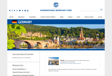 IMF Country Information on Germany