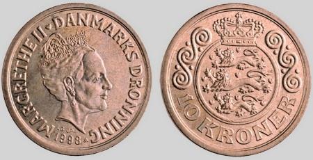 20 dänische kronen in euro